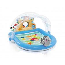 Loc de joaca gonflabil cu stropitoare Aquaworld