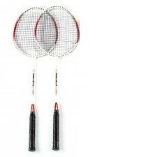 Set badminton 2 rachete si 3 fluturasi
