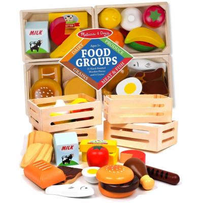 Joc din lemn Invata grupele alimentare