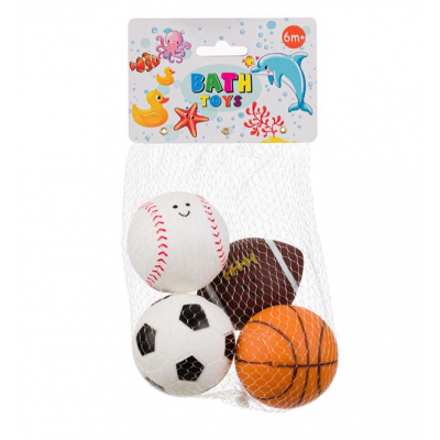 Set 4 mingii bebe pentru baie