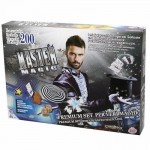 Set de magie premium Master Magic cu 200 trucuri