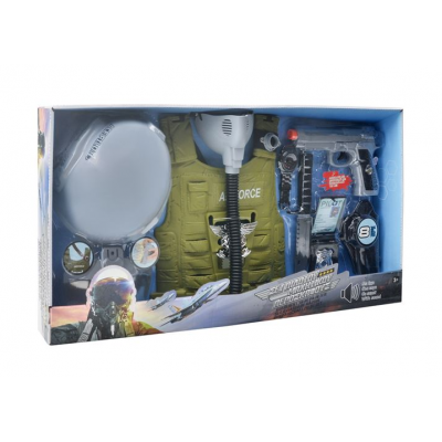 Set de joaca pilot militar Air Force