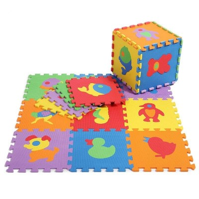 Covor puzzle animalute