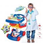 Set de joaca interactiv si jucarie de rol Micul doctor