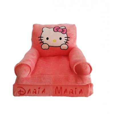 Fotoliu din plus extensibil Hello Kitty personalizat cu nume