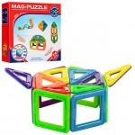 Joc de constructie magnetic Mag Puzzle 20 piese