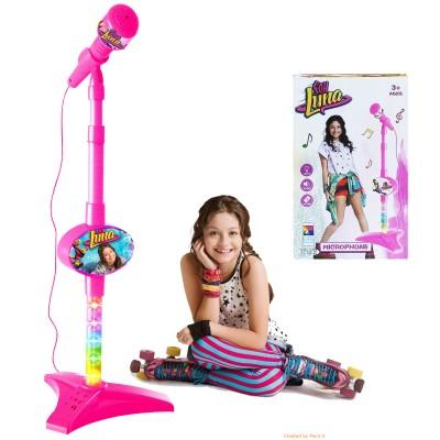 Microfon cu mp3 si karaoke Soy Luna