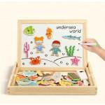 Tabla cu puzzle Animalute Marine