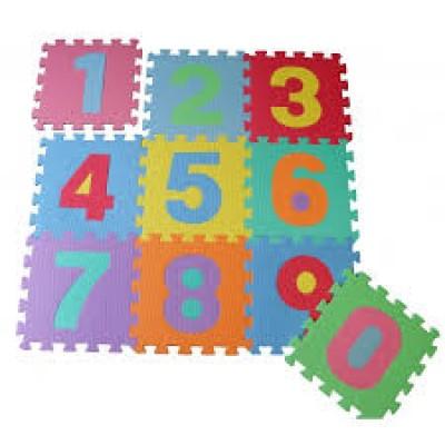 Covor puzzle cifre