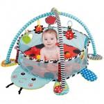 Saltea si centru activitati bebe cu bile Buburuza 3 in 1