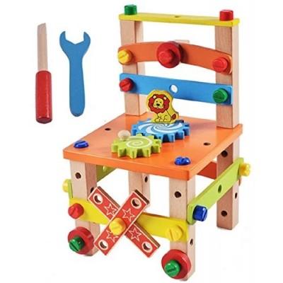 Joc de constructie din lemn